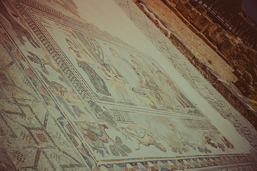 Mozaiki, Park Archeologiczny w Pafos