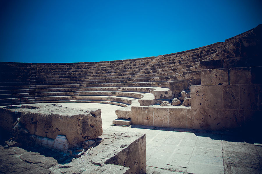 Odeon, Park Archeologiczny w Pafos